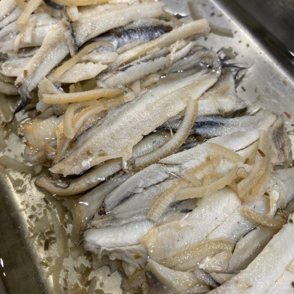 Anchois marinés au citron (150gr)